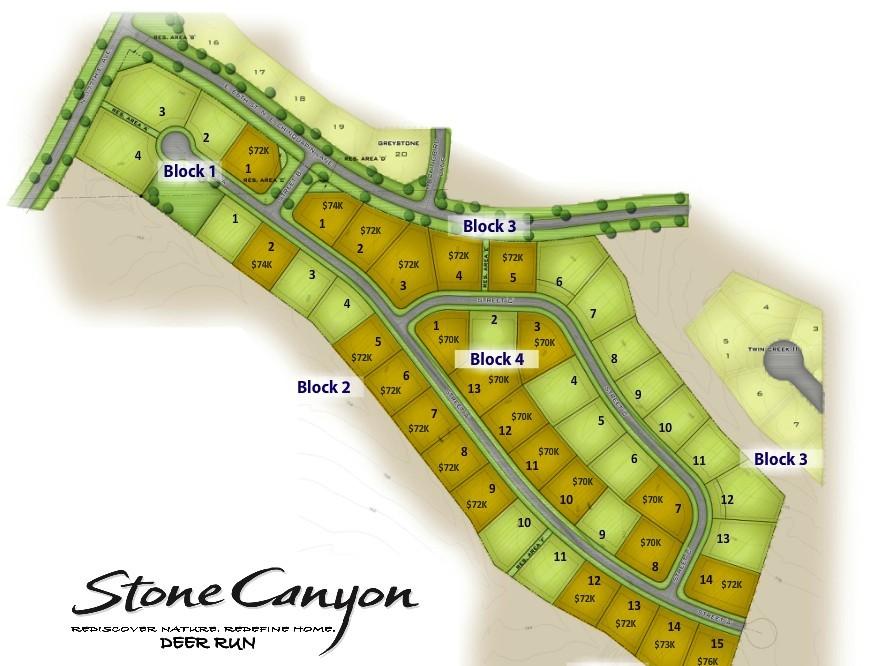 Stone Canyon Lots